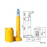 Versandbehälter-Dichtung ISO führen 17712 hohe Sicherheits-Dichtung (KD-007)