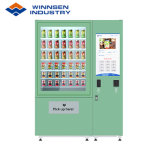 Winnsen salada fresca máquina de venda automática com elevador