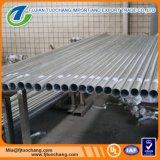 Heißes eingetaucht galvanisiert ringsum Metallrohrleitung