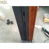新製品のオフィスの外部の木製のクラッディングアルミニウムフレームの引き戸