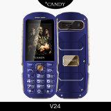 2.4 pulgadas Full Metal IP56 Tri-Proof Muti-Language Soporte 2G GSM teléfono