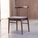 Цельная древесина обеденный стул / сад место Председателя