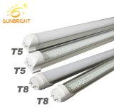 preço de fábrica Multicolor T5 T8 Iluminação do Tubo de LED