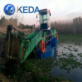 Nave di taglio del giacinto di acqua di alta efficienza & draga di aspirazione di taglio