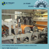 Деревянные пленки зерна прокатанные PVC каландрируя/производственная линия календара