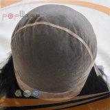 Peluca llena del cordón de Handtied del pelo de la Virgen (PPG-l-0387)