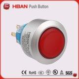 22mmの円形の自己のリセットのPus Hbuttonスイッチ