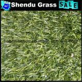 relvado da grama verde de 20mm para o jardim ao ar livre
