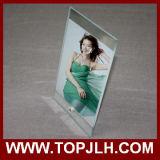 15 * 20 cm de vidrio templado Marco de la foto de la sublimación