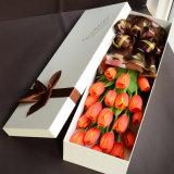 고품질 종이 선물 수송용 포장 상자 꽃 수송용 포장 상자