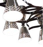 2017 Las últimas lámparas pendientes suspendidas modernas del níquel para el hotel
