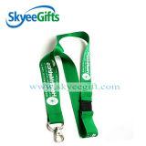 Eco-Friendly personalizada Poliéster cuello móvil correa de cuello para regalo de la promoción