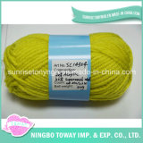 Preço barato regenerada coloridas do fio OEM Blended Knitting Sock