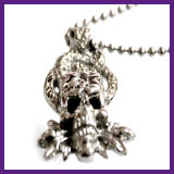 Manier 316 de Halsband van de Tegenhanger van de Schedel van de Demon van de Stier van het Roestvrij staal voor de Vrouwen van Mannen