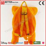 Заполненный мешок школы плюша Backpack слона