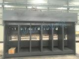 Hspの機密保護の戸枠のローラー機械金属のドアパターン浮彫りになる機械