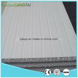 Panneau de mur en acier de sandwich à Rockwool de couleur de matériaux de construction en métal/Glasswool/EPS pour la structure métallique