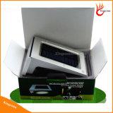 Bateria Rechangable 20 Sensor de movimentos PIR de LED de luz solar Piscina Muro de Segurança LED de luz da luz exterior