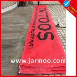 Promoção para os anúncios de banner de PVC