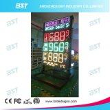 Elevador de preço de gás com LED de alto brilho ao ar livre