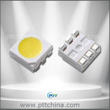 Blanco fresco 5050 SMD LED, 24-26lm, 6000-7000k