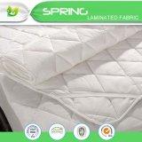 """Hoja gemela blanca del vinilo del protector de la cubierta de colchón de la talla impermeable (39 """" X76 """" +11.5 """")"""