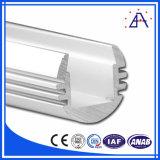 LED de forma redonda com perfil de alumínio
