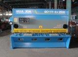 Máquina de corte hidráulica de QC11k 8*2500, máquina de estaca