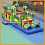 Ballon-aufblasbares Hindernis kombiniert (AQ14105)