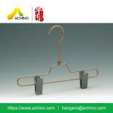 Colgador de aluminio con abrazaderas de plástico para niños (APSH101).
