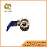 Женский шариковый клапан мыжской резьбы латунный с Dn20