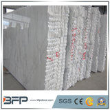 Lastra di marmo bianca naturale della Cina Carrara grande con i bordi casuali
