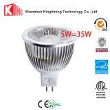 lámparas comerciales 450lm 500lm de la iluminación MR16 de 12V LED con ETL