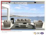 Novo sofá de vime pátio com jardim - Piscina sofá (TG-023)