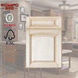 De moderne Witte Deur van de Keukenkast van de Lak Houten (GSP5-005)