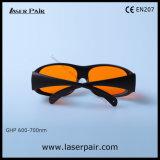 A melhor qualidade de óculos de proteção protetores verdes de vidros de segurança do laser 532nm/laser com Frame33