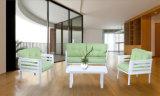 [مولتي-وس] نمط بيتيّة أثاث لازم [ستّينغ رووم] قماش فنية أريكة مجموعة