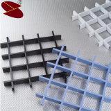 Plafond en aluminium coloré de matériaux de construction de couche de poudre de fournisseur de la Chine décoratif