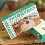 El sabor de los fideos Shirataki vegetal