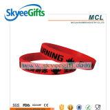 Wristbands del silicone del braccialetto per i bambini e gli adulti