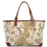 Новые моды Canvas Бич брелоки печать сумку для леди (RS-8589)
