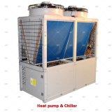 380V/50Hz Modulaire industriel de l'air refroidis par air à l'eau de la pompe à chaleur