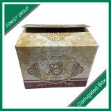 Empaquetage ondulé de boîte à vin de carton