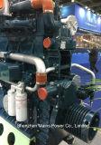 1200HP 1000rpm Yuchaiの海洋のディーゼル機関の漁船手前側にあるモーター