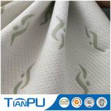Tela polivinílica impermeable del telar jacquar del Knit para el protector del colchón