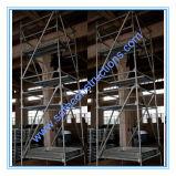 Tour d'échafaudage qualifiée par ce sûr pour la décoration