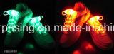 Shoestring шнурка цветастый светящий СИД горячего сбывания проблескивая СИД