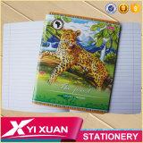 Caderno de papel preliminar da composição A5 A6 do livro de nota da escola
