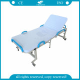 AGFb001 Ce&ISO Approvediの鉄フレームの病院の折るベッド