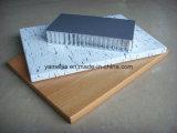 Facciata di alluminio leggera della parete del favo